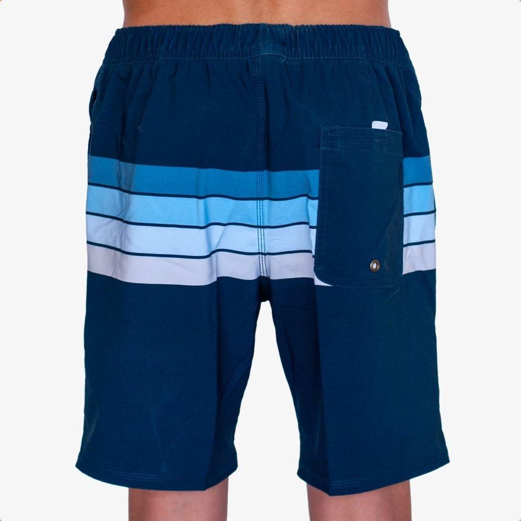 "Surfari Surfari Men's Newport 17.5"" Baggies Shorts Navy"