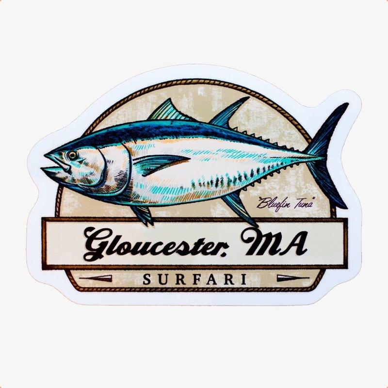 Surfari Surfari Tuna Trophy Sticker