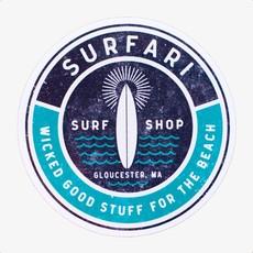 Surfari Surfari Wicked Good Stuff Sticker