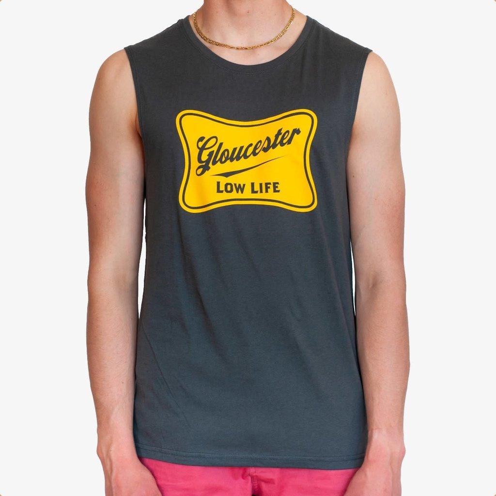 Surfari Surfari Gloucester Low Life Muscle Tank Slate