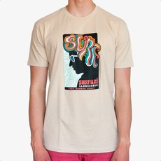 Surfari Surfari Surf Hair Don't Care T-shirt-Final Sale