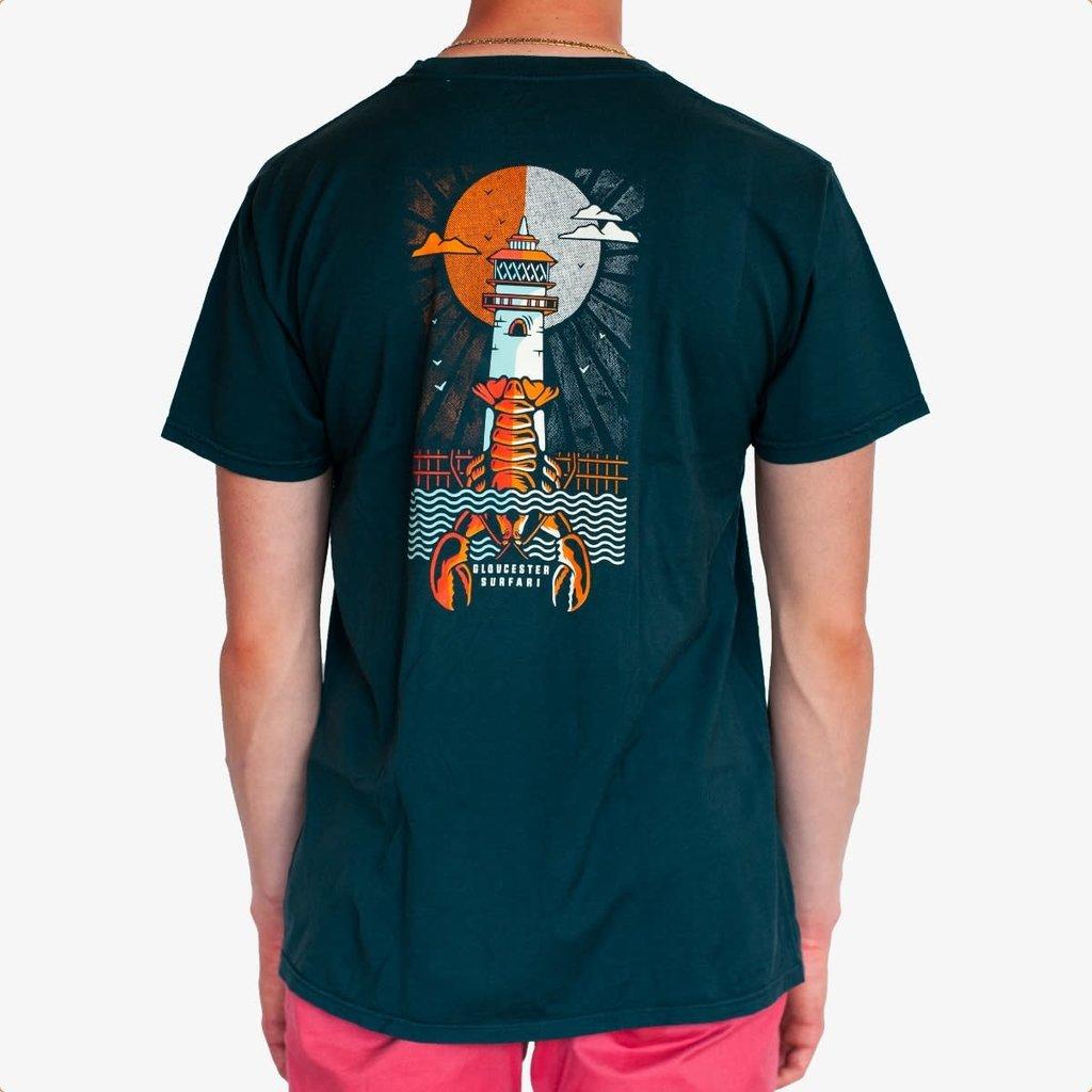 Surfari Surfari Lobsta Lighthouse T-shirt-Final Sale