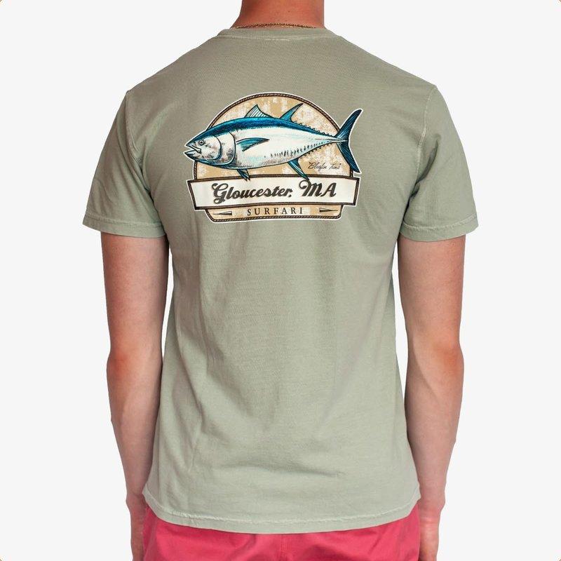 Surfari Surfari Bluefin T-shirt Sandstone