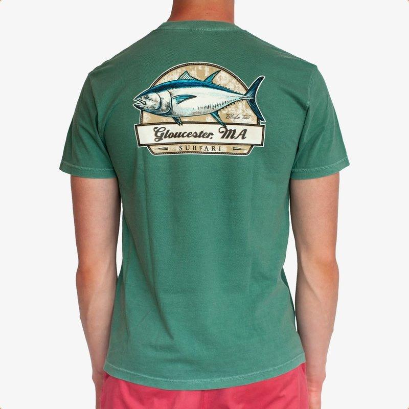 Surfari Surfari Bluefin T-shirt Green