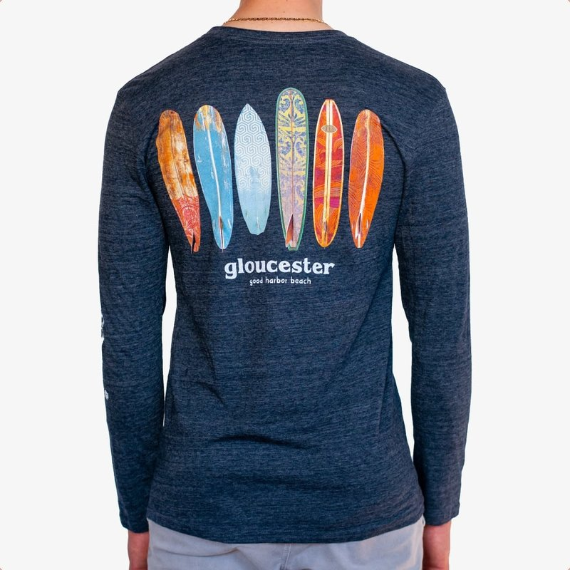 Surfari Surfari Gloucester Log Quiver Long Sleeve T-shirt