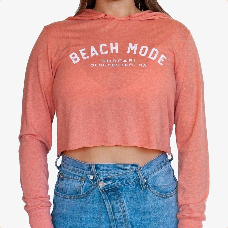 Surfari Surfari Beach Mode Women's Cropped Hoodie