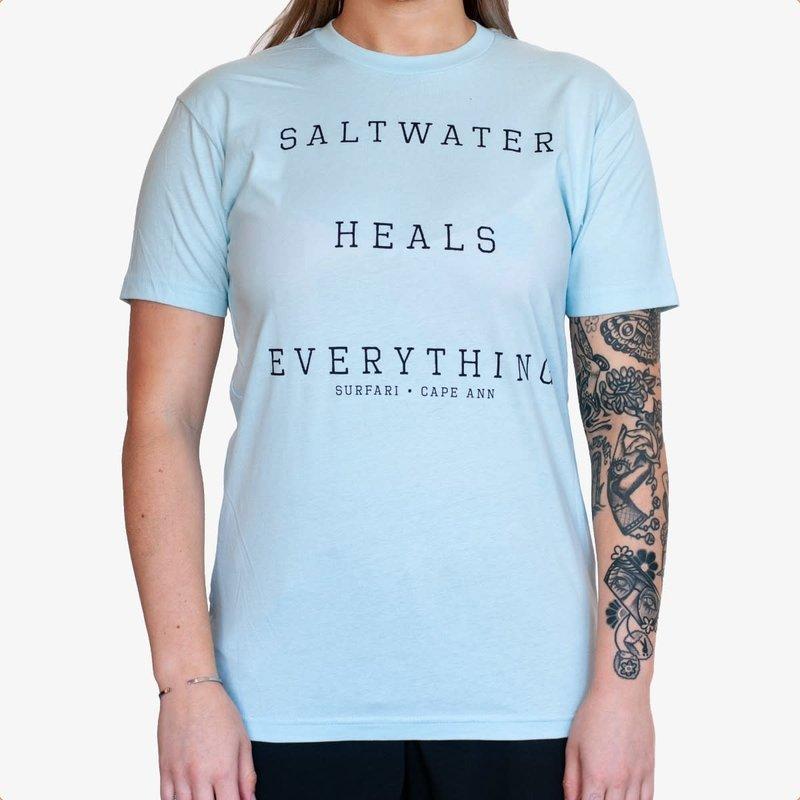 Surfari Surfari Saltwater Heals T-shirt