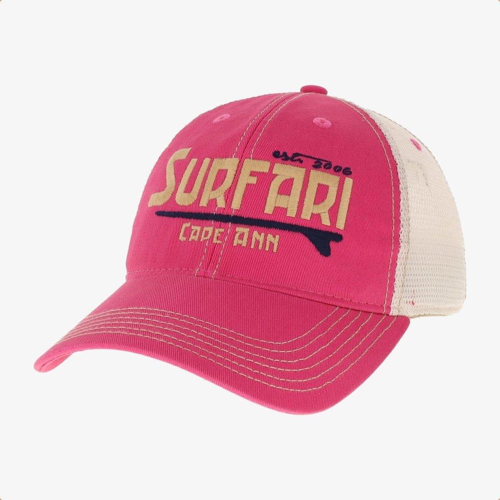 Surfari Surfari Cape Ann Trucker Hat Dark Pink