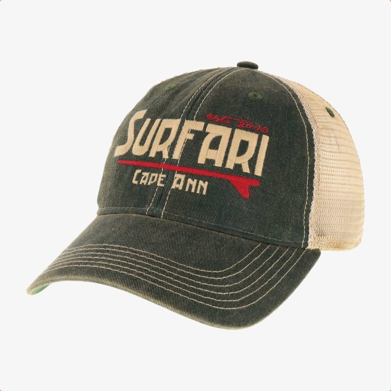 Surfari Surfari Cape Ann Trucker Hat Kelp Green