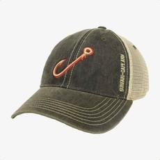 Surfari Surfari Fish Hook Trucker Hat Black