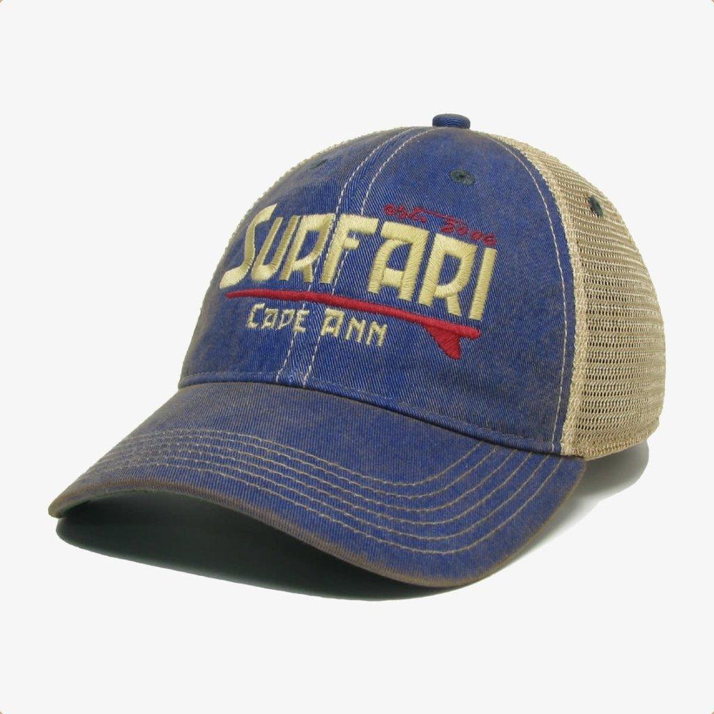Surfari Surfari Cape Ann Trucker Hat Blue