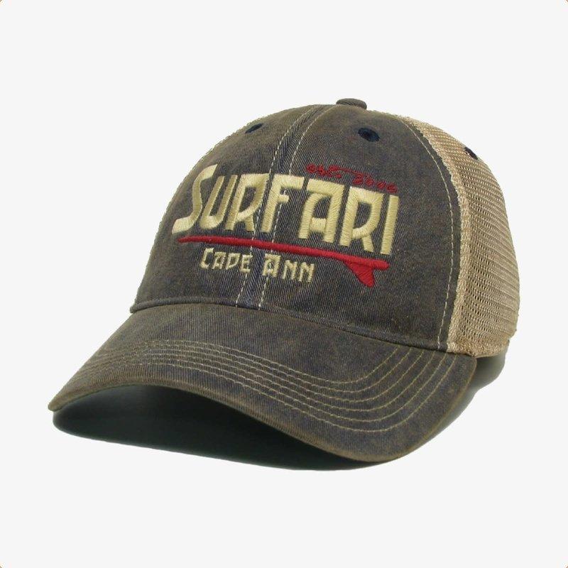 Surfari Surfari Cape Ann Kid's Trucker Hat Navy