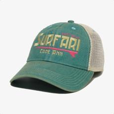 Surfari Surfari Cape Ann Kid's Trucker Hat Aqua Blue