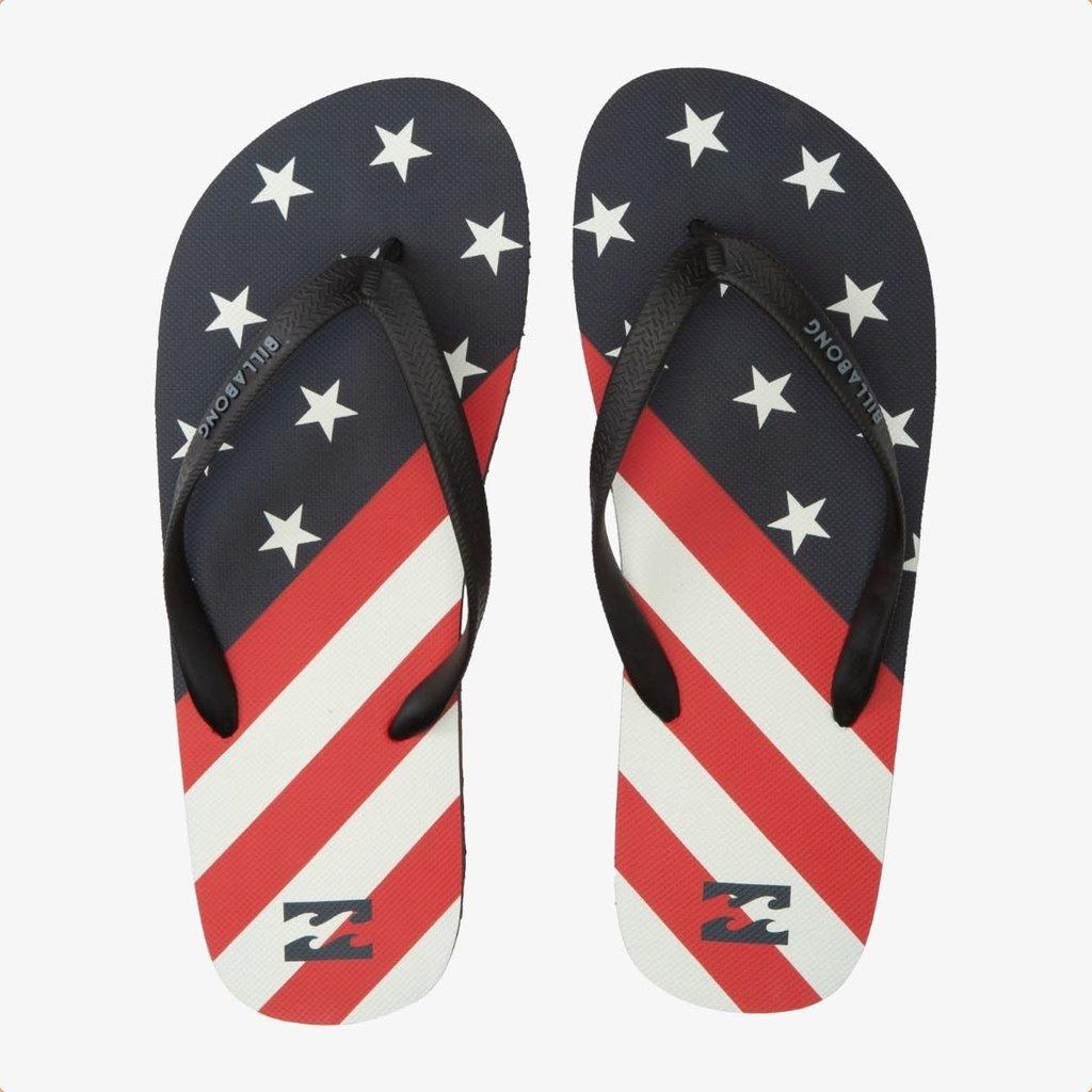 Billabong Billabong Tides Sandals Navy/Red