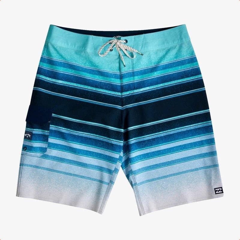 "Billabong Billabong Boys' All Day Stripe Pro Boardshorts 18"" Blue"