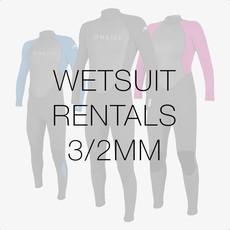 Surfari Wetsuit Rental 3/2mm
