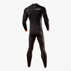 Crooked Surf Crooked Surf 4/3mm Men's Full Wetsuit Black