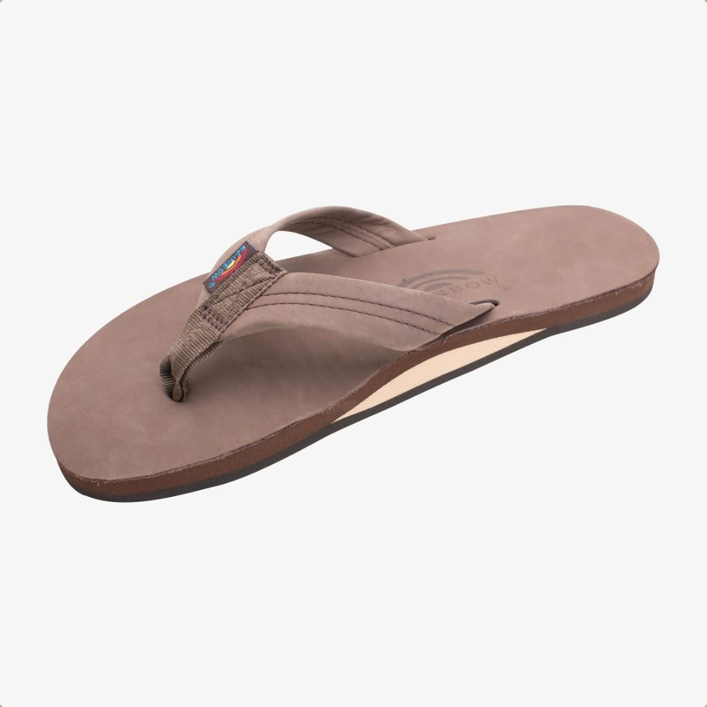 Rainbow Sandals Rainbow Sandals Men's Single Layer Premier Leather With Arch Support Expresso