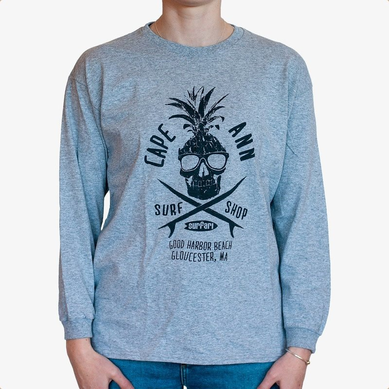 Surfari Surfari Youth Sweet Dude L/S T-shirt Grey