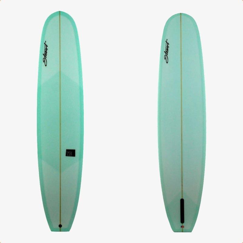 "Stewart Surfboards 9'2"" Stewart Tipster Seafoam Green Tint"