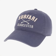 Surfari Surfari Gloucester Surfboards Dad Hat Navy