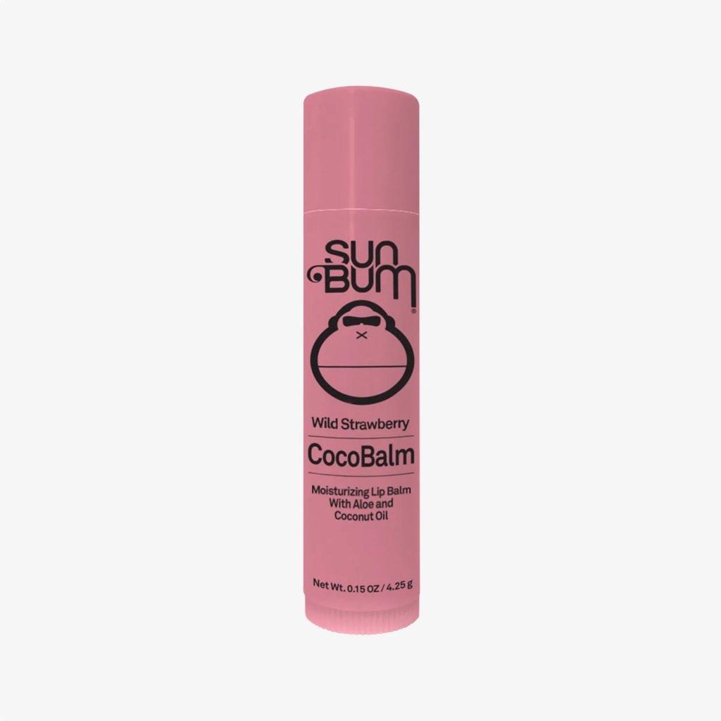 Sun Bum Sun Bum CocoBalm Lip Balm Wild Strawberry