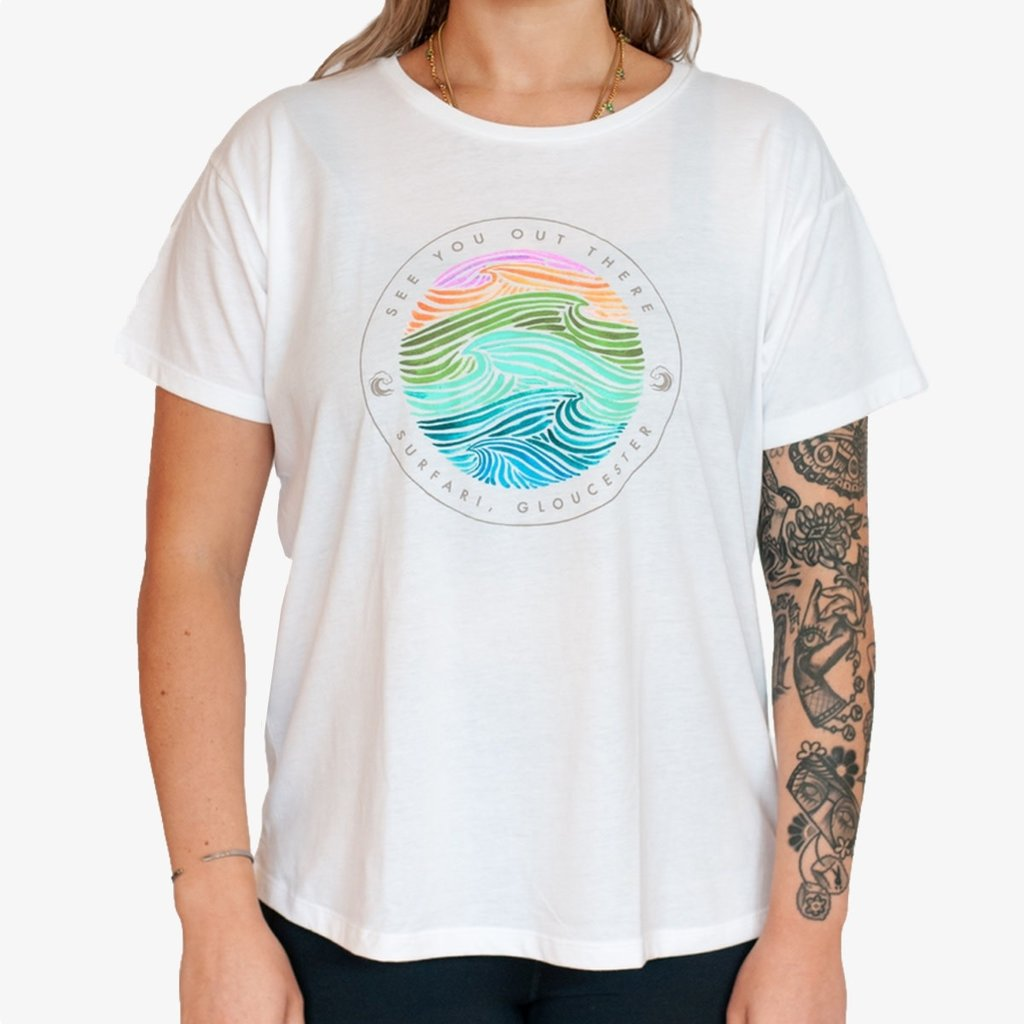 Surfari Surfari Seaside Dreams Women's Tee-Final Sale