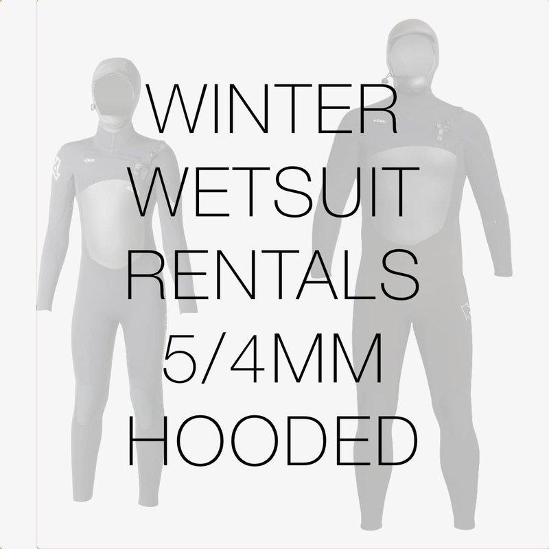 Surfari Wetsuit Rental 5/4mm Hooded