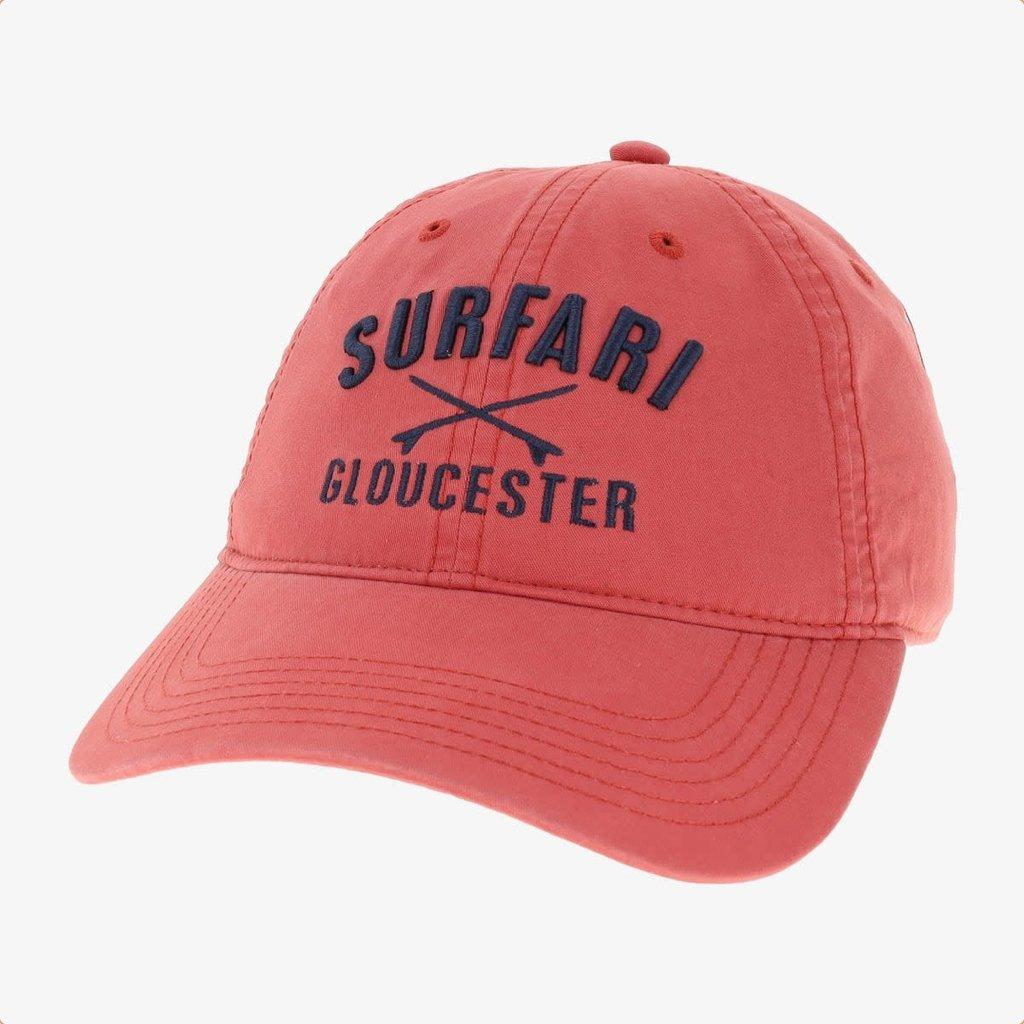 Surfari Surfari Gloucester Surfboards Dad Hat ACK Red