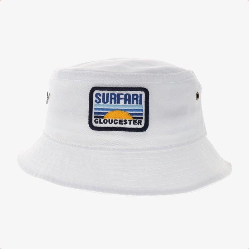 Surfari Surfari Dawn Patrol Bucket Hat White