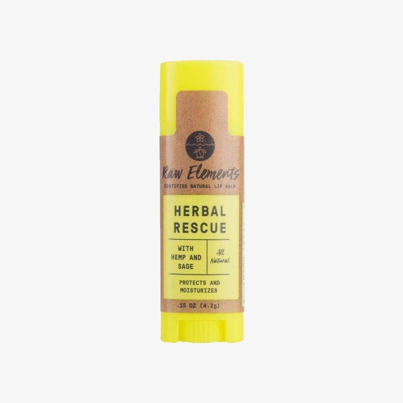 Raw Elements Raw Elements Herbal Rescue Lip Balm