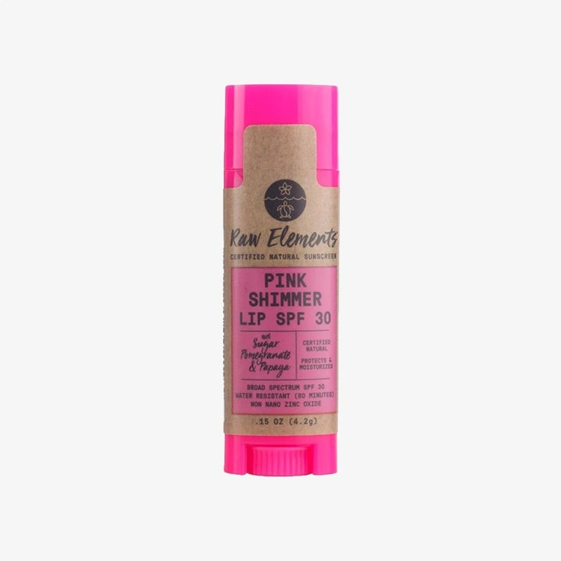 Raw Elements Raw Elements Pink Lip Shimmer SPF 30