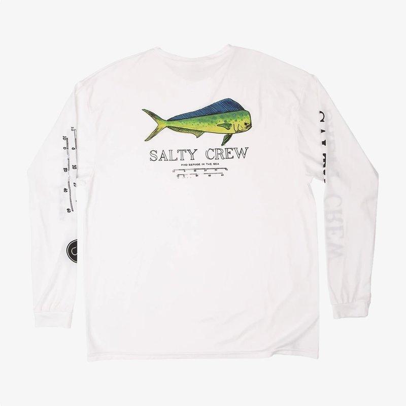 Salty Crew Salty Crew Angry Bull L/S Sunshirt White