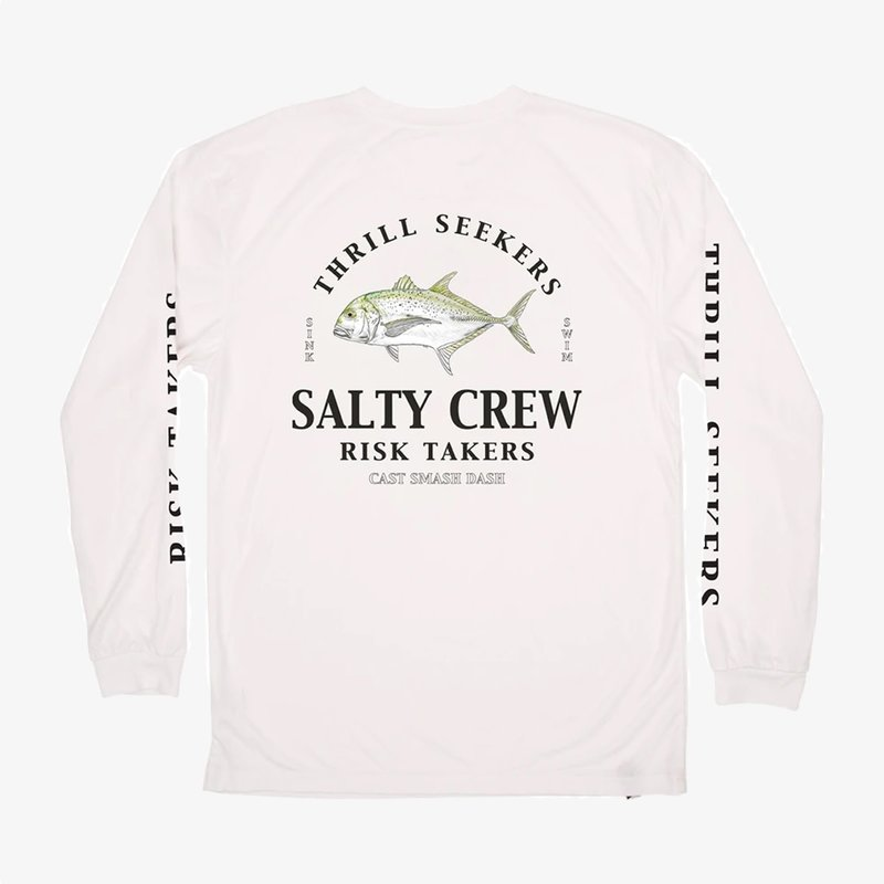 Salty Crew Salty Crew GT L/S Sunshirt White