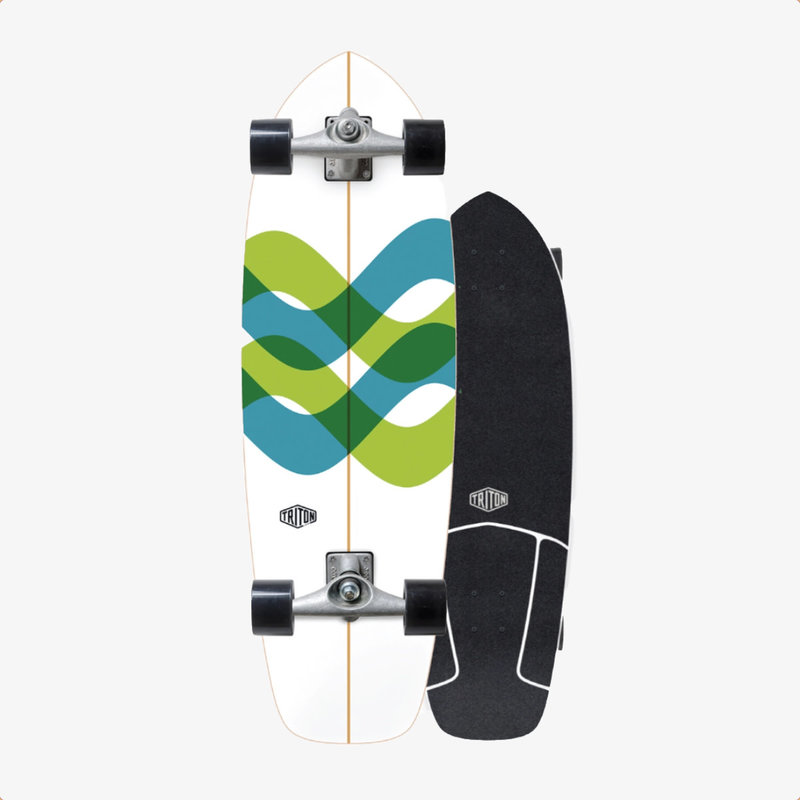 """Triton Triton X Carver 31"""" Signal Surfskate Complete"""