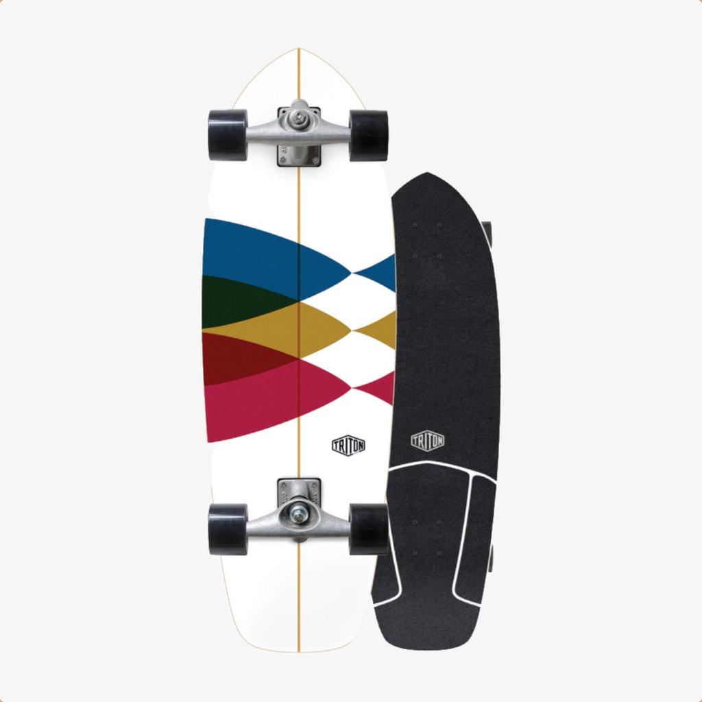 "Triton Triton X Carver 30"" Spectral Surfskate Complete"