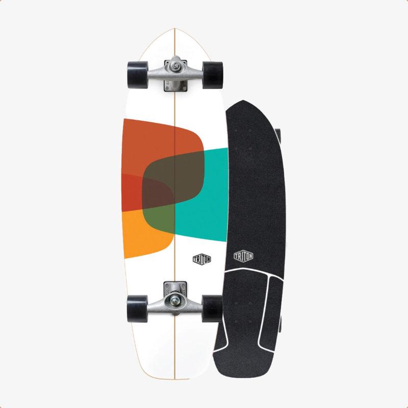 """Triton Triton X Carver 32"""" Prismal Surfskate Complete"""
