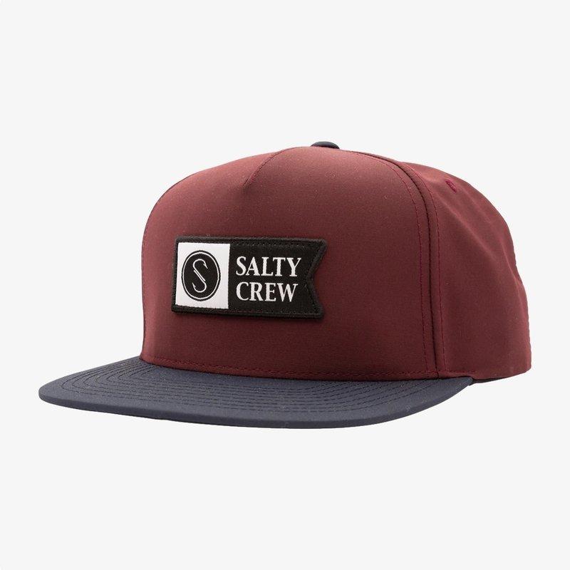 Salty Crew Salty Crew Alpha Tech 5 Panel Hat