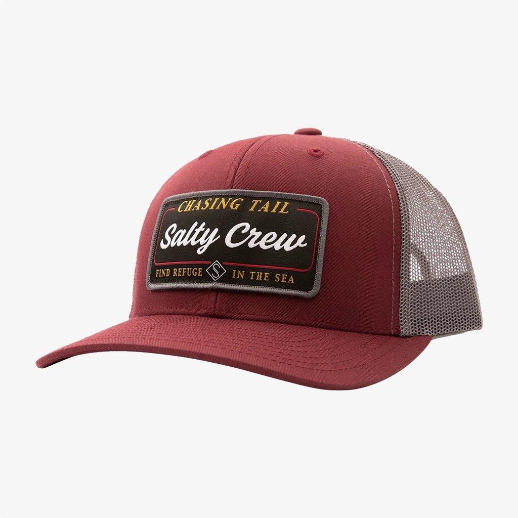 Salty Crew Salty Crew Marina Retro Trucker Burgundy/Grey