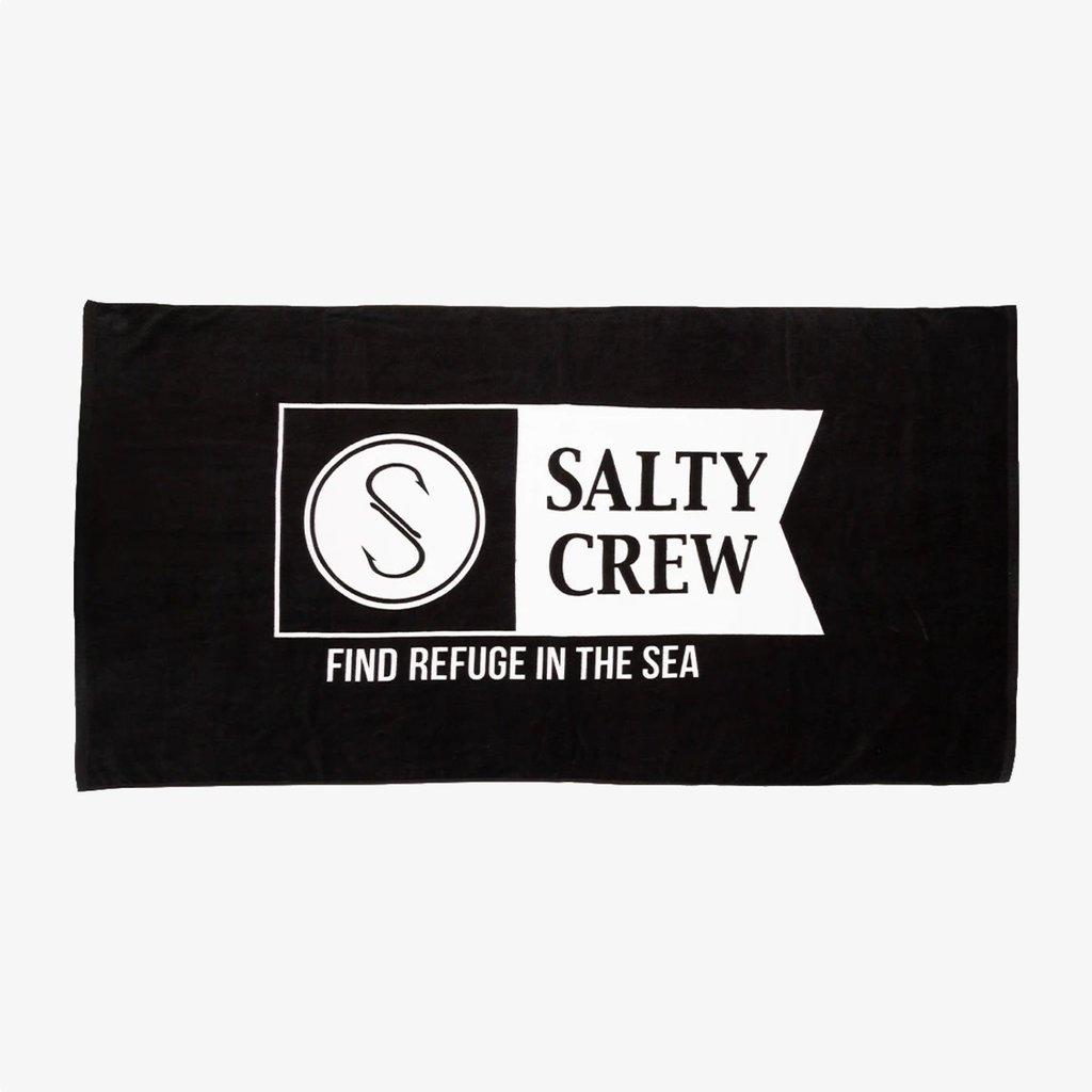 Salty Crew Salty Crew Alpha Refuge Towel Black