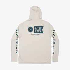 Salty Crew Salty Crew Alpha Hood Sunshirt Silver