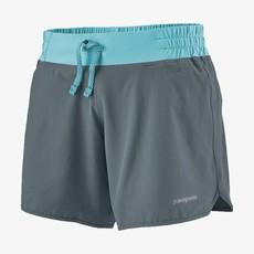 """Patagonia Patagonia Women's Nine Trails Shorts 6"""" Plume Grey"""