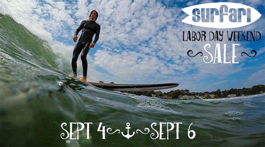 Surfari Labor Day Weekend Sale