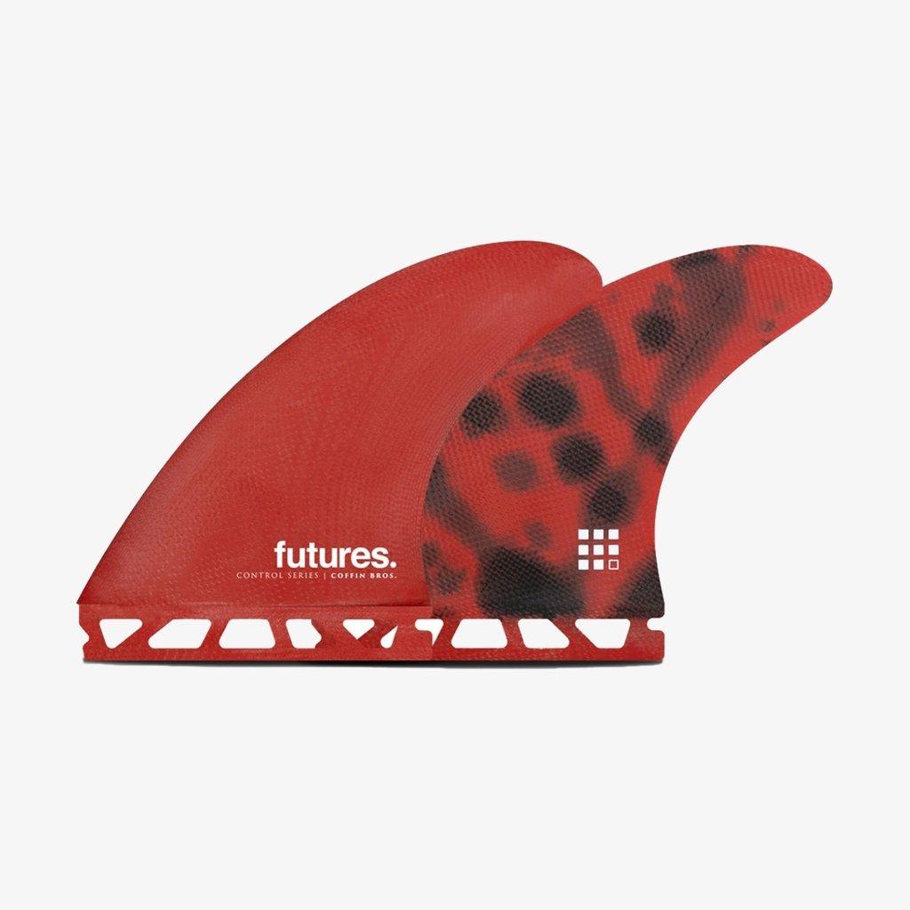 Futures Futures Coffin Bros FG Thruster Medium Red/Black