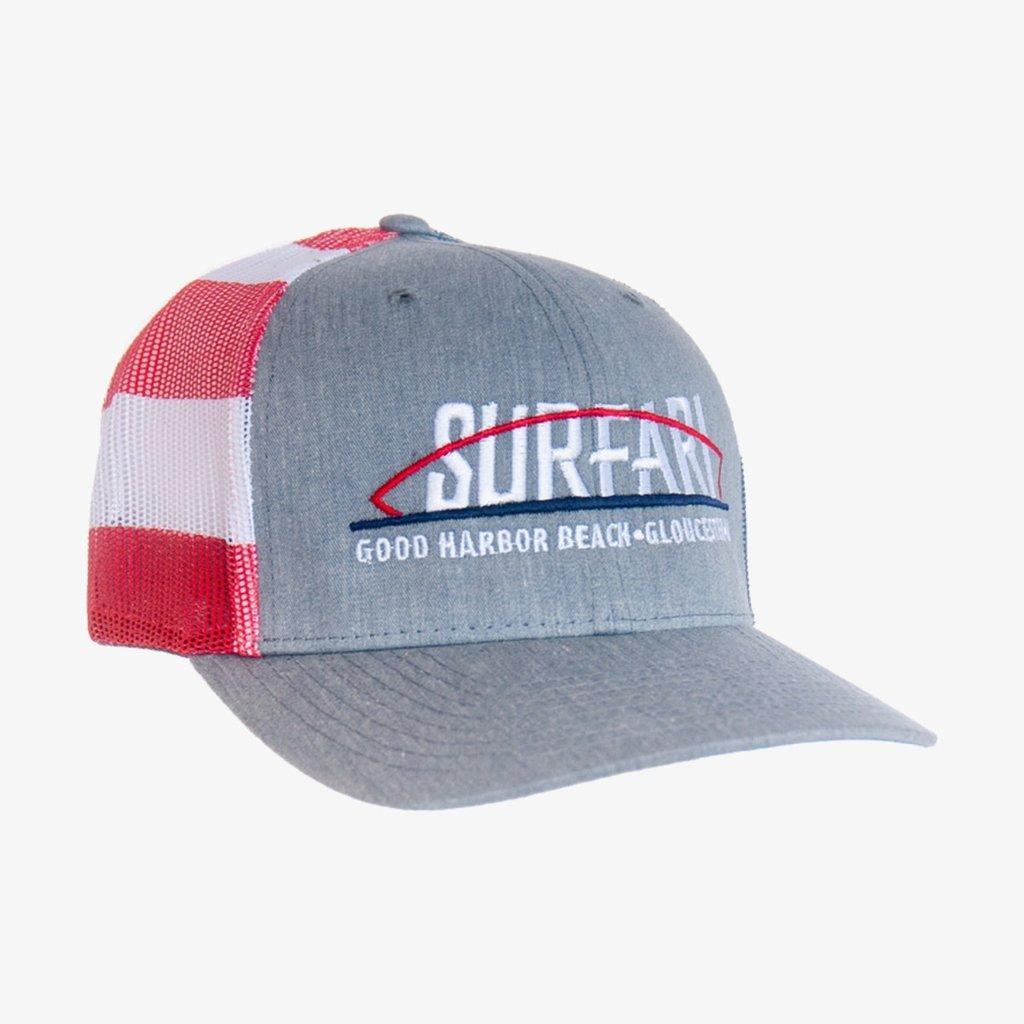 Surfari Stars and Stripes Surfari Trucker Hat - Flag