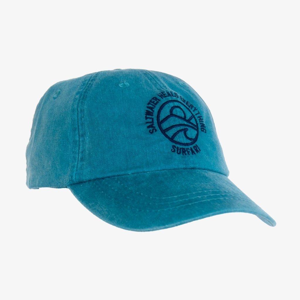 Surfari Saltwater Heals Everything Hat - Teal