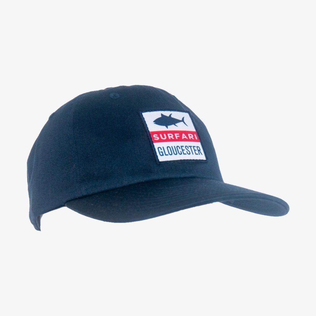 Surfari Surfari Tuna Patch Dad Hat Navy
