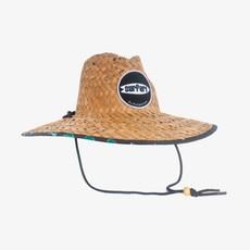 Surfari Surfari Finster Straw Hat Black