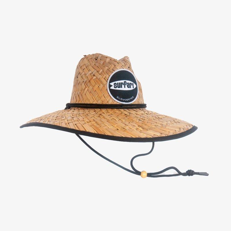 Surfari Surfari Jetty Straw Hat Black