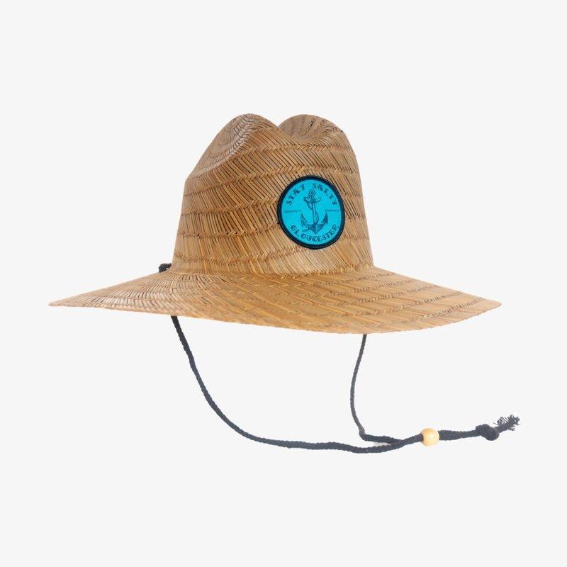 Surfari Surfari Stay Salty Straw Hat Natural